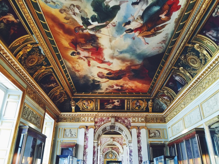 Renaissance Ceiling in the Louvre