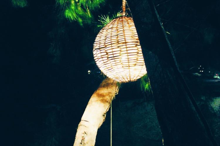 The weak source of light on Koh Rong Samloem.