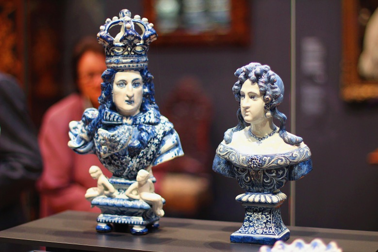 Porcelain from the 17th Century in Rijksmuseum.