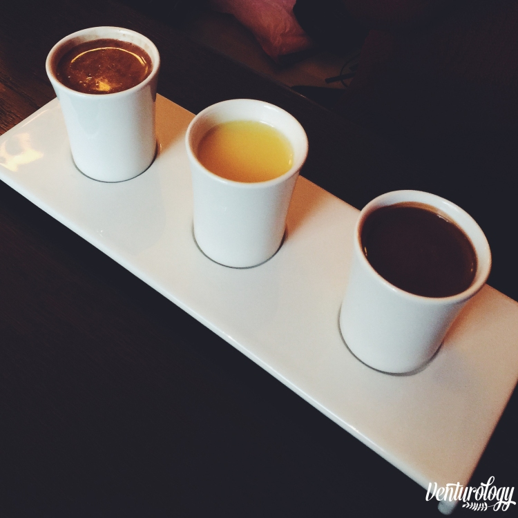 3 shots of rich chocolate. Wanna try?