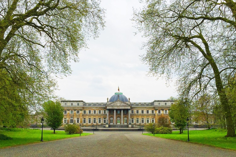Royal Palace of Laeken, official house of the royal family.