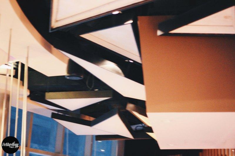 EON Heli Bar's Ceiling