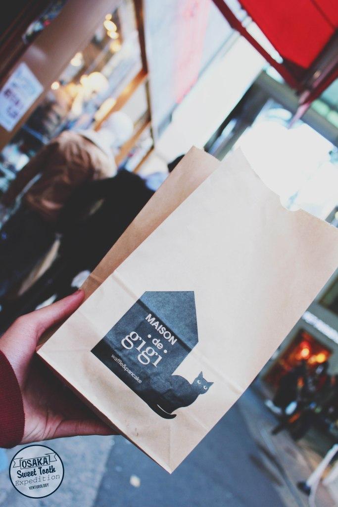 Maison de Gigi, waffle place.