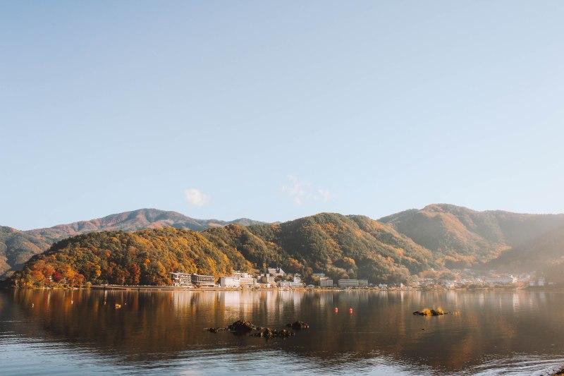 Hồ Ashi Lake ở Hakone