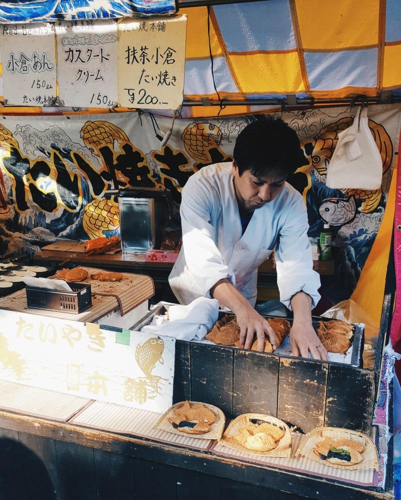 Taiyaki Vendor