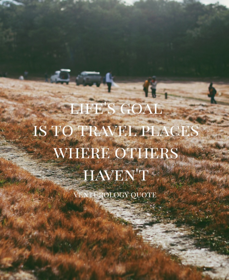 Inspiring Quotes that make you want to travel the world