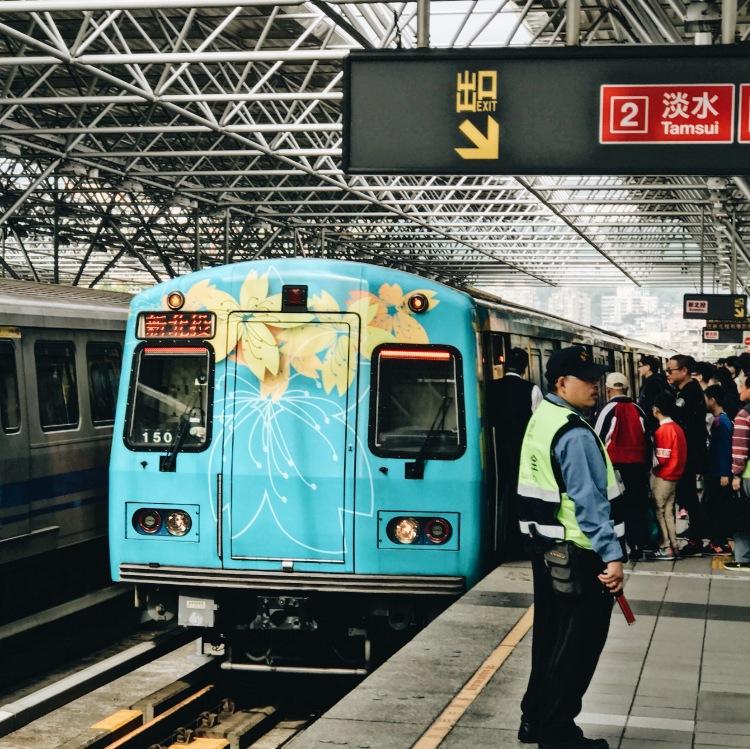 MRT từ Beitou đến Xinbeitou