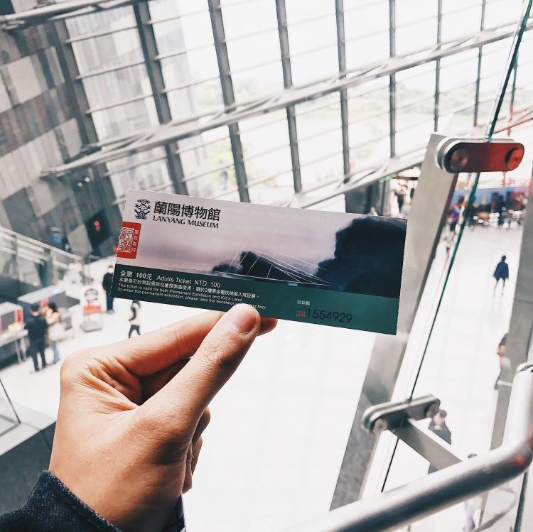 vé vào bảo tàng Lanyang