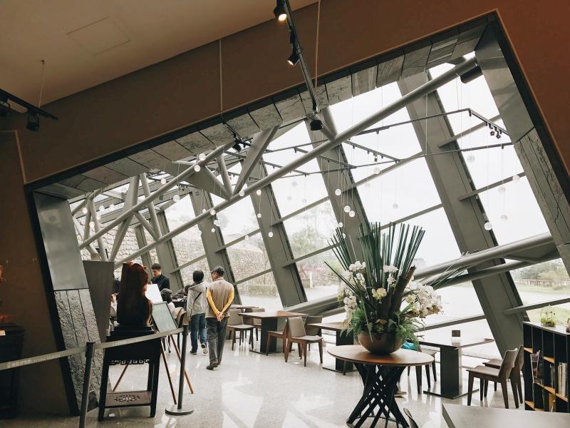 Cafe và nhà hàng ở bảo tàng Lanyang