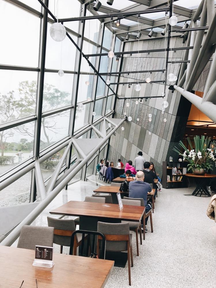Cafe và nhà hàng tại bảo tàng Lanyang