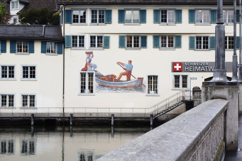 Street Art in Zurich, Switzerland