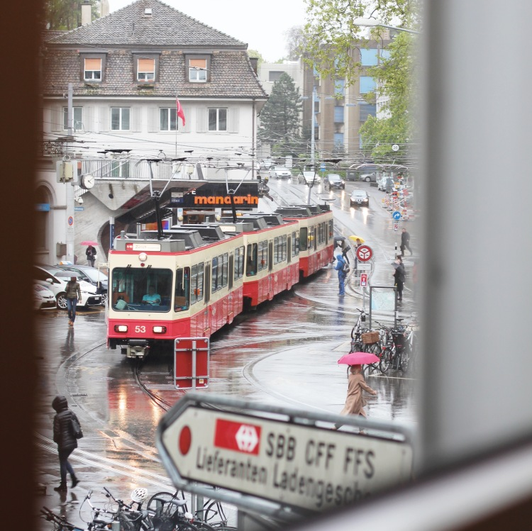 Tram in Zurich, Switzerland