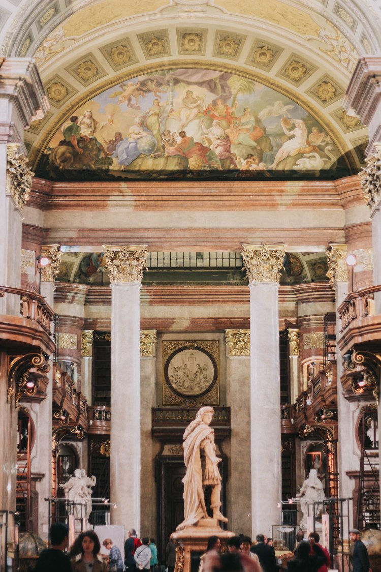 Austrian National Library Interior