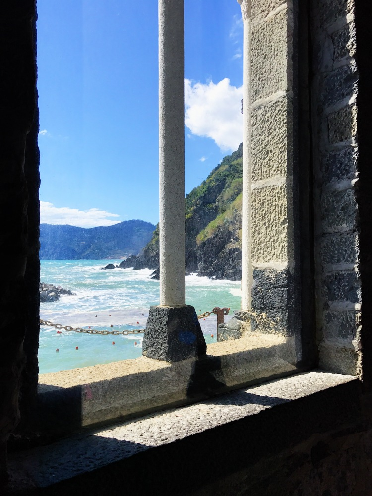 A view from a church Vernazza