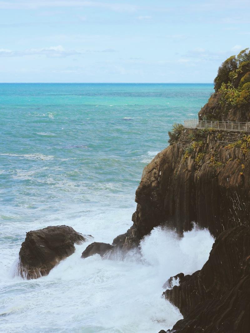 Riomaggiore Sea Cliff, Cinque Terre, Italy