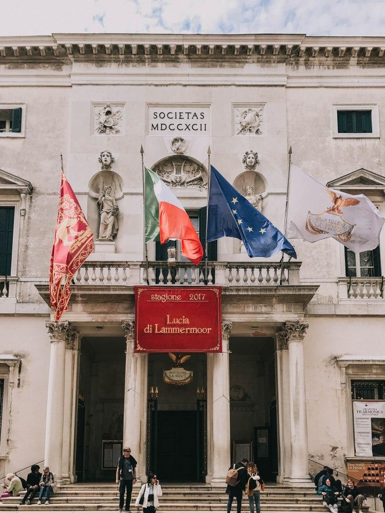 Teatro la Fenice front