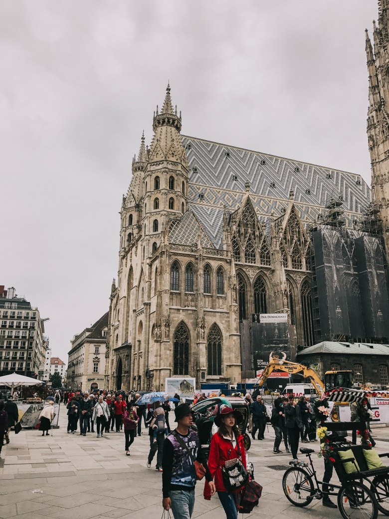Vienna Domkirche St. Stephan Architecture