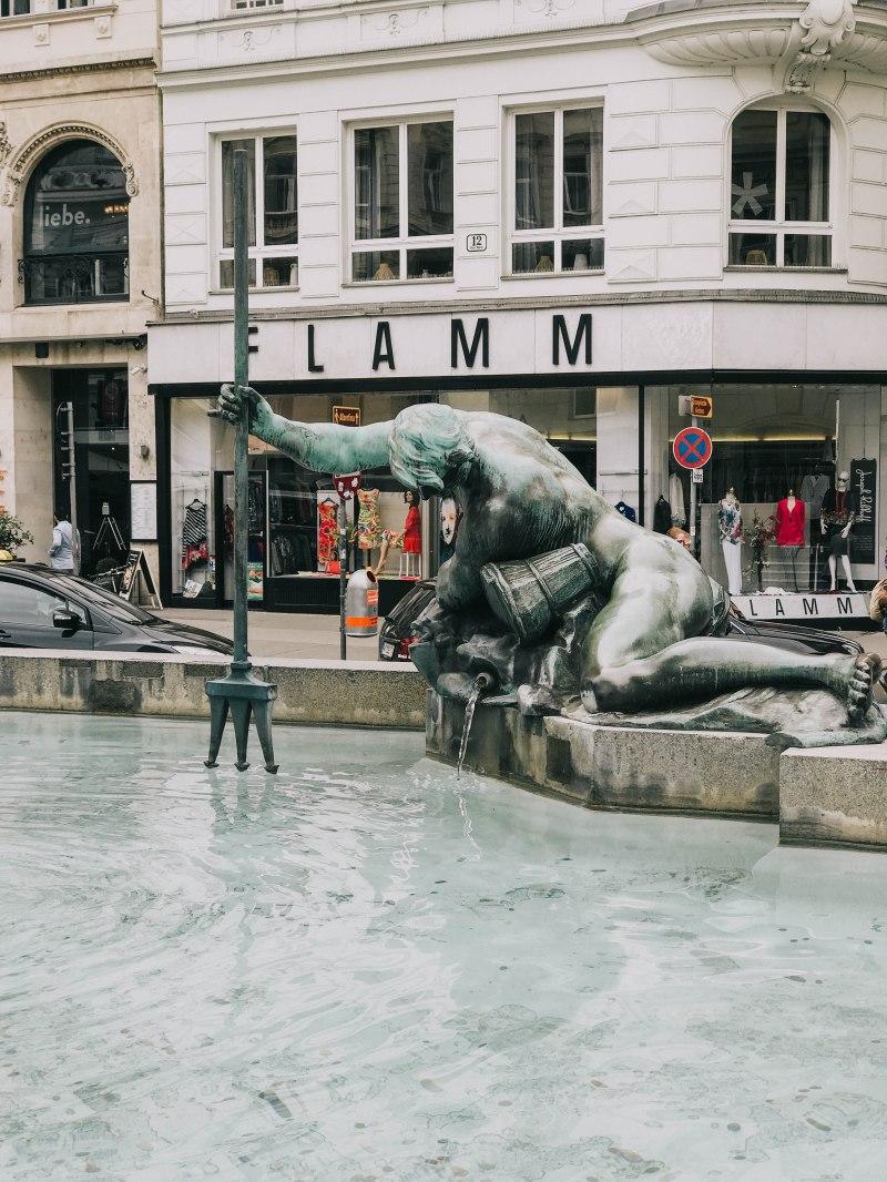 Vienna Donnebrunnen Fountain Vienna