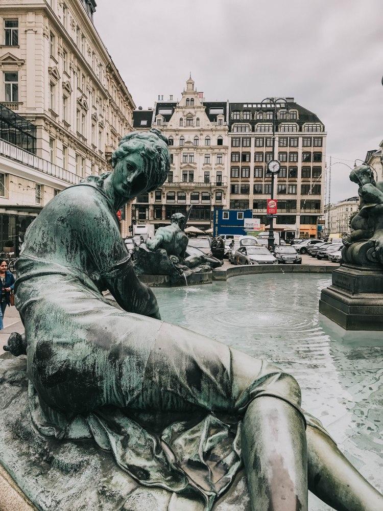 Vienna Donnebrunnen Fountain
