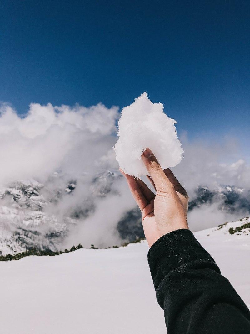 Dachstein Austria holding snow