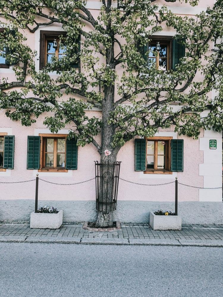 Hallstatt village a beautiful corner