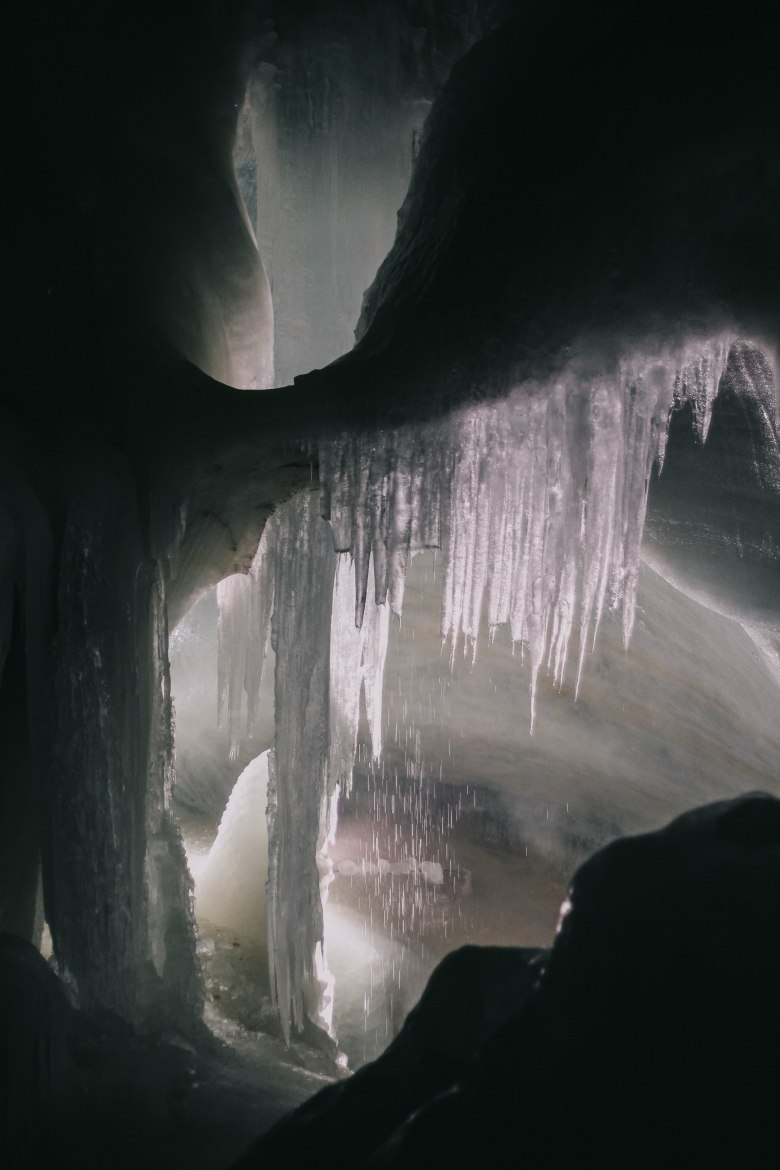 Ice Cave Icicle