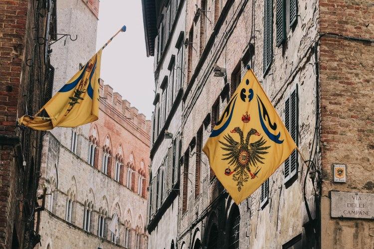 Flags in Siena