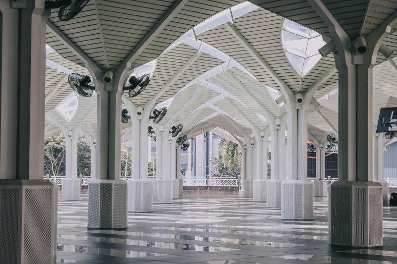 KLCC Mosuqe Kuala Lumpur Malaysia