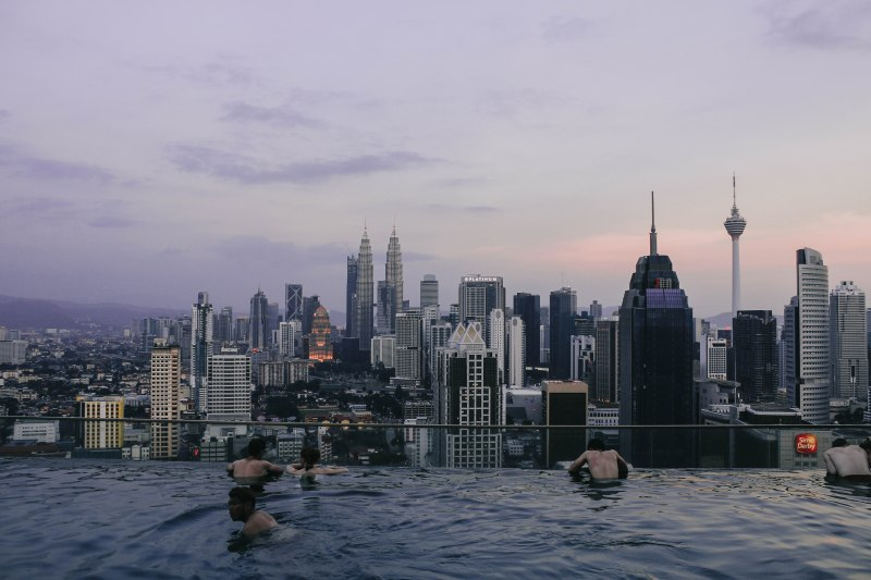 Kuala Lumpur Hồ bơi vô cực Regalia Flyover