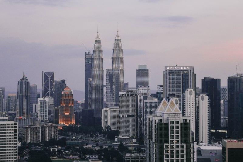 Kuala Lumpur thành phố hoàng hôn
