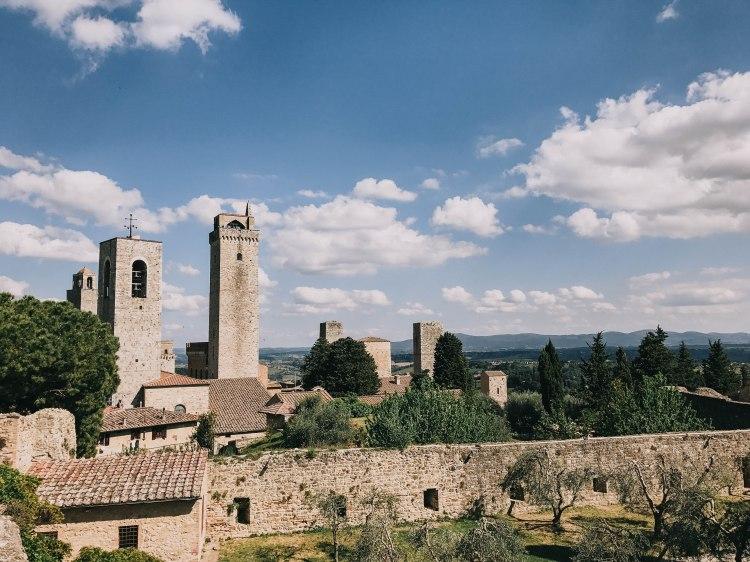 San Gimignano town scape