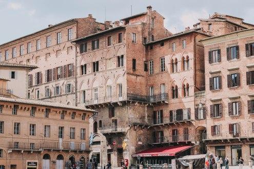 Siena buildings