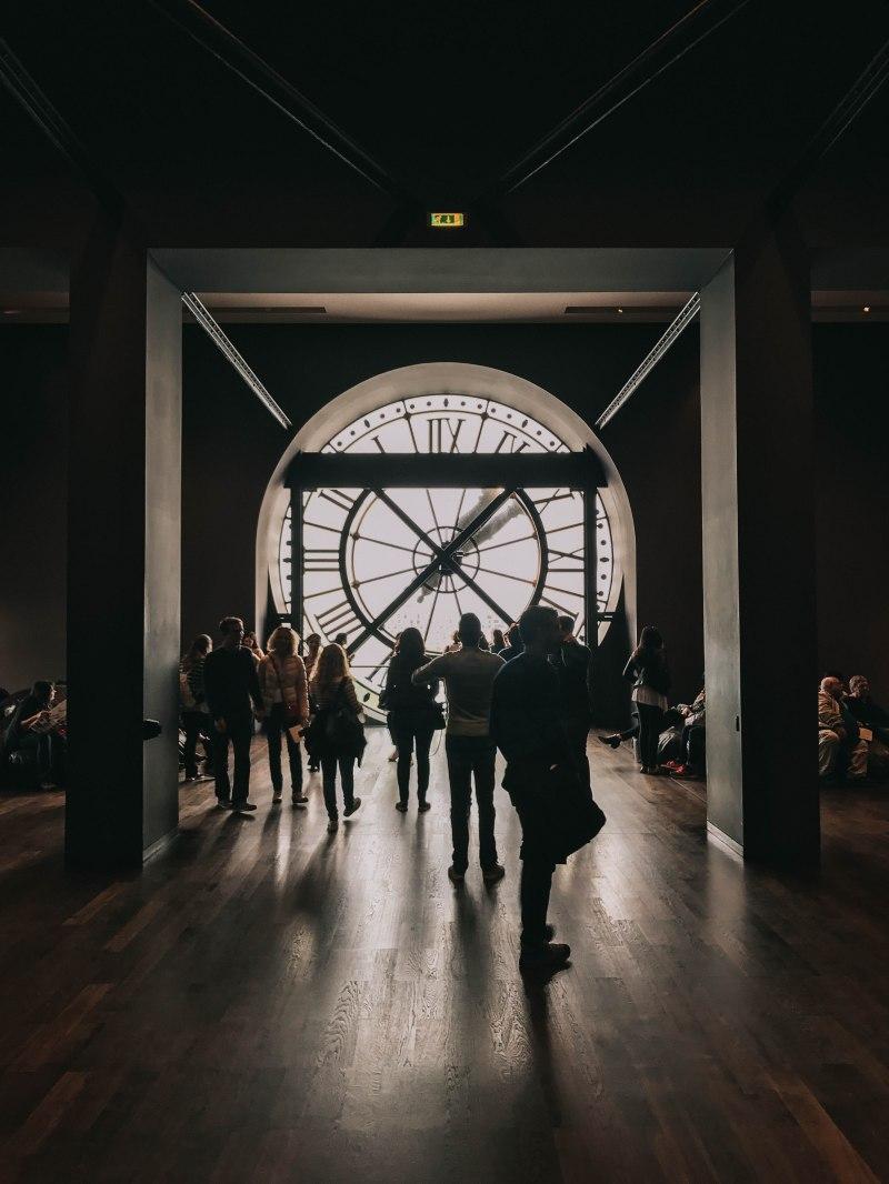 Bảo tàng d'Orsay Pháp Paris Musee d'Orsay clock