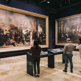 Bảo tàng d'Orsay Pháp Paris Musee d'Orsay sảnh bức hoạ