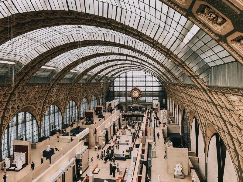 Bảo tàng d'Orsay Pháp Paris Musee d'Orsay sảnh chính