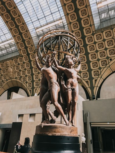 Bảo tàng d'Orsay Pháp Paris Musee d'Orsay tượng sculpture