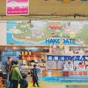 Hakodate Fish Market Chợ Hải Sản Hokkaido Venturology Lý Thành Cơ