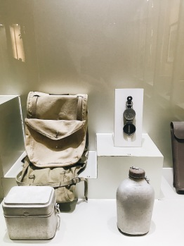 Small exhibits inside Ho Chi Minh Museum