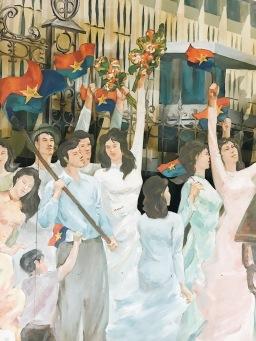 Propaganda exhibition in Ho Chi Minh Museum