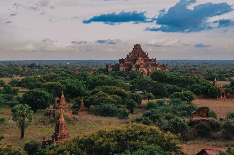 Bagan Myanmar Venturology Lý Thành Cơ Đền chùa