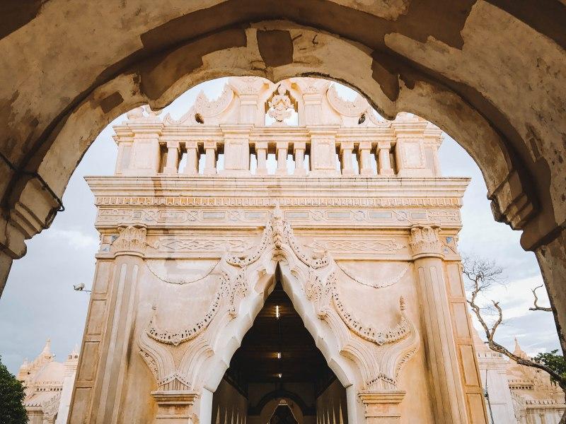 Inside Ananda Temple