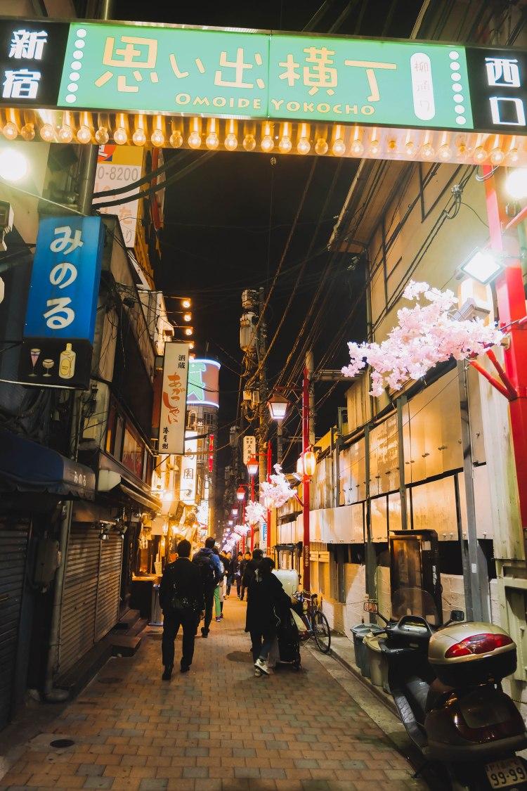 Omoide Yokocho Shinjuku