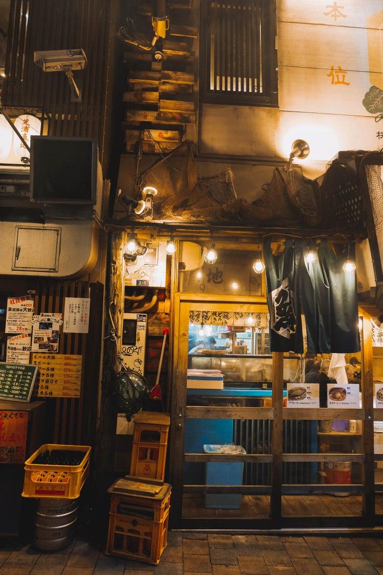 Quán ăn ở Shinjuku