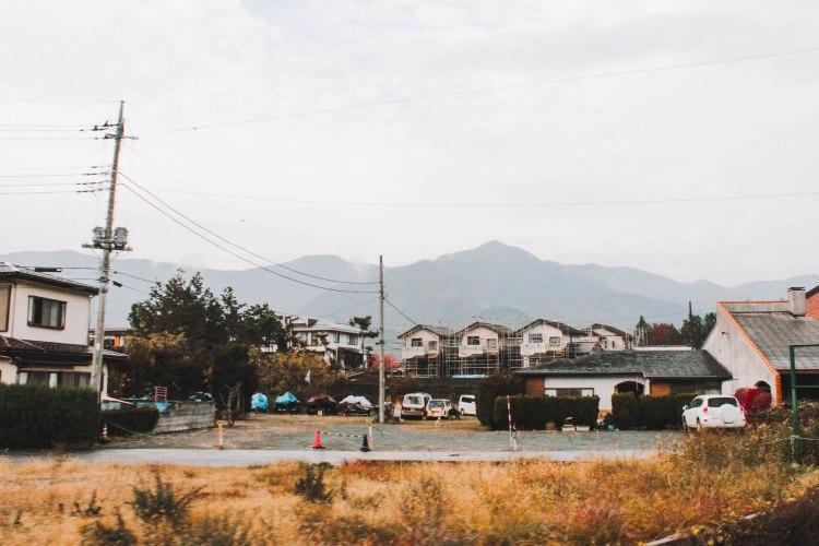 Thị trấn ở Yamanashi