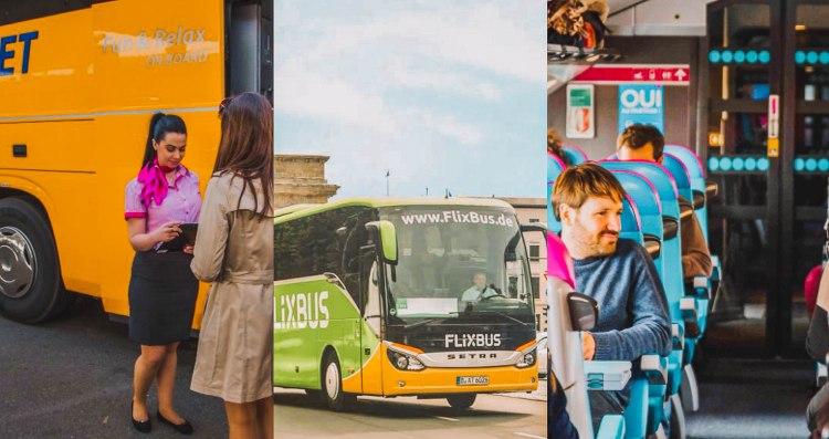 10 hãng bus giá rẻ ở Châu Âu 10 budget bus lines in Europe