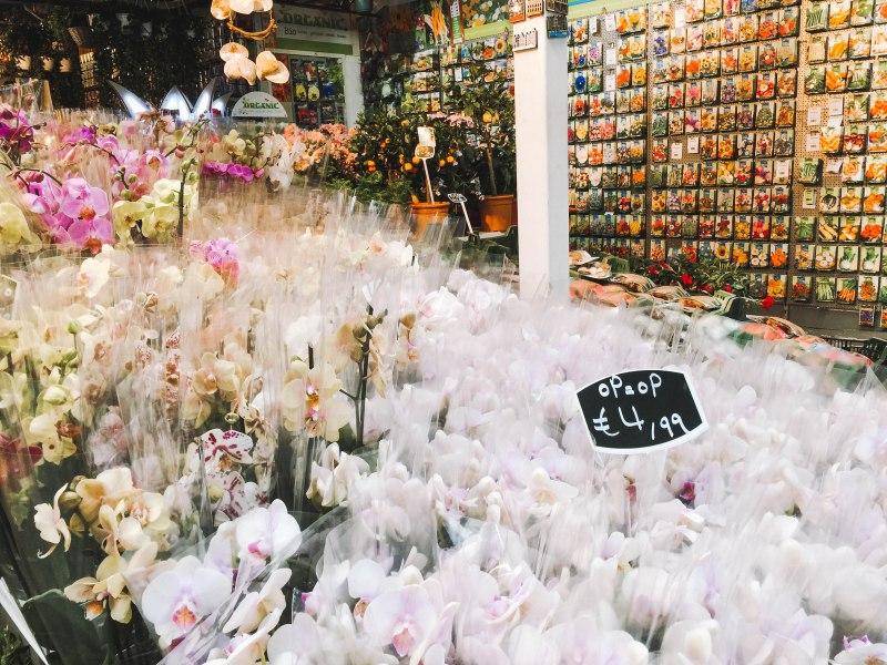 Flowershop bloemenmarkt Amsterdam