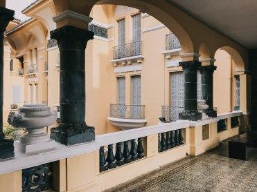 Hành lang bên trong Bảo Tàng Mỹ Thuật Thành phố Hồ Chí Minh Fine Arts Museum