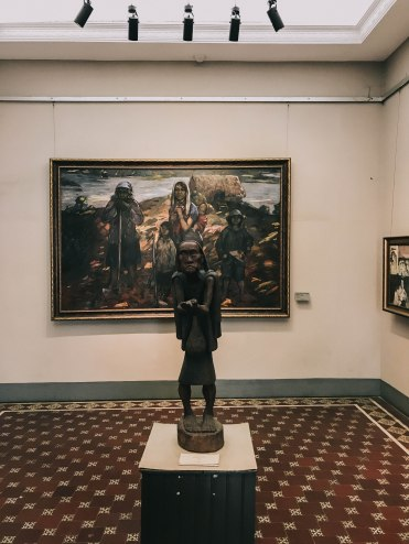 Khu trưng bày trong Bảo Tàng Mỹ Thuật Thành phố Hồ Chí Minh Fine Arts Museum
