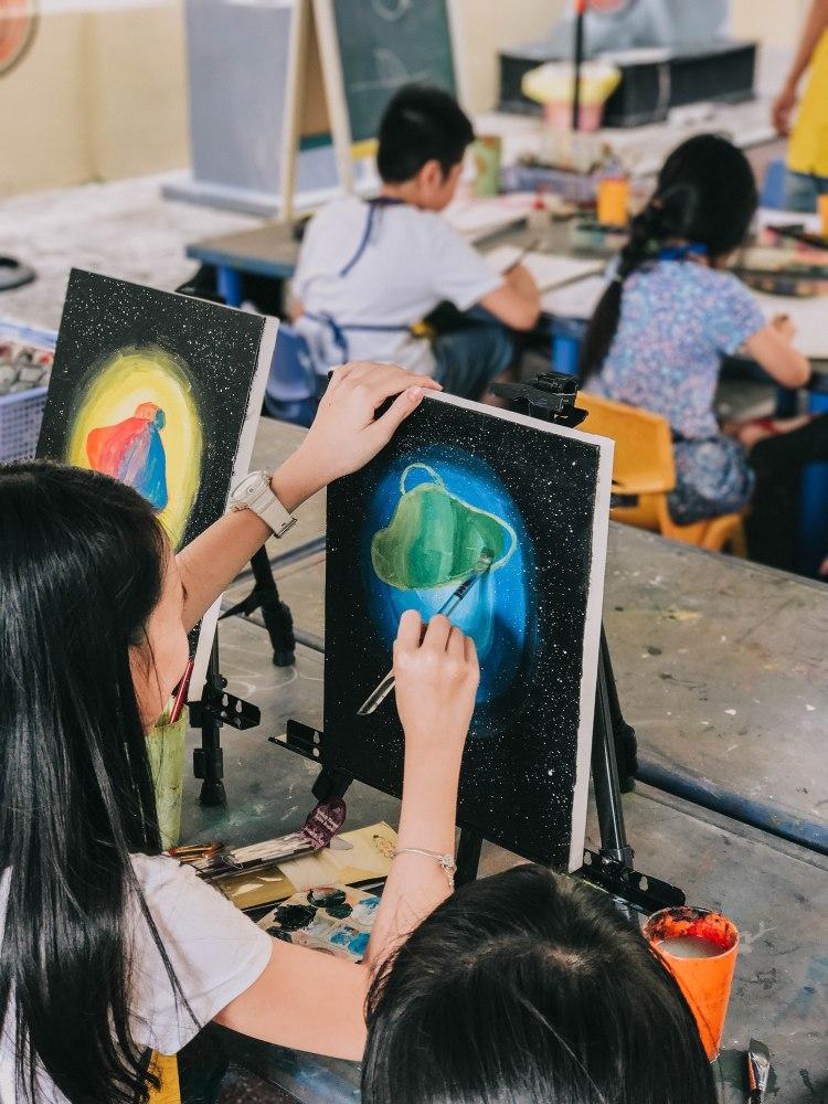 Lớp dạy vẽ Bảo Tàng Mỹ Thuật Thành phố Hồ Chí Minh Fine Arts Museum