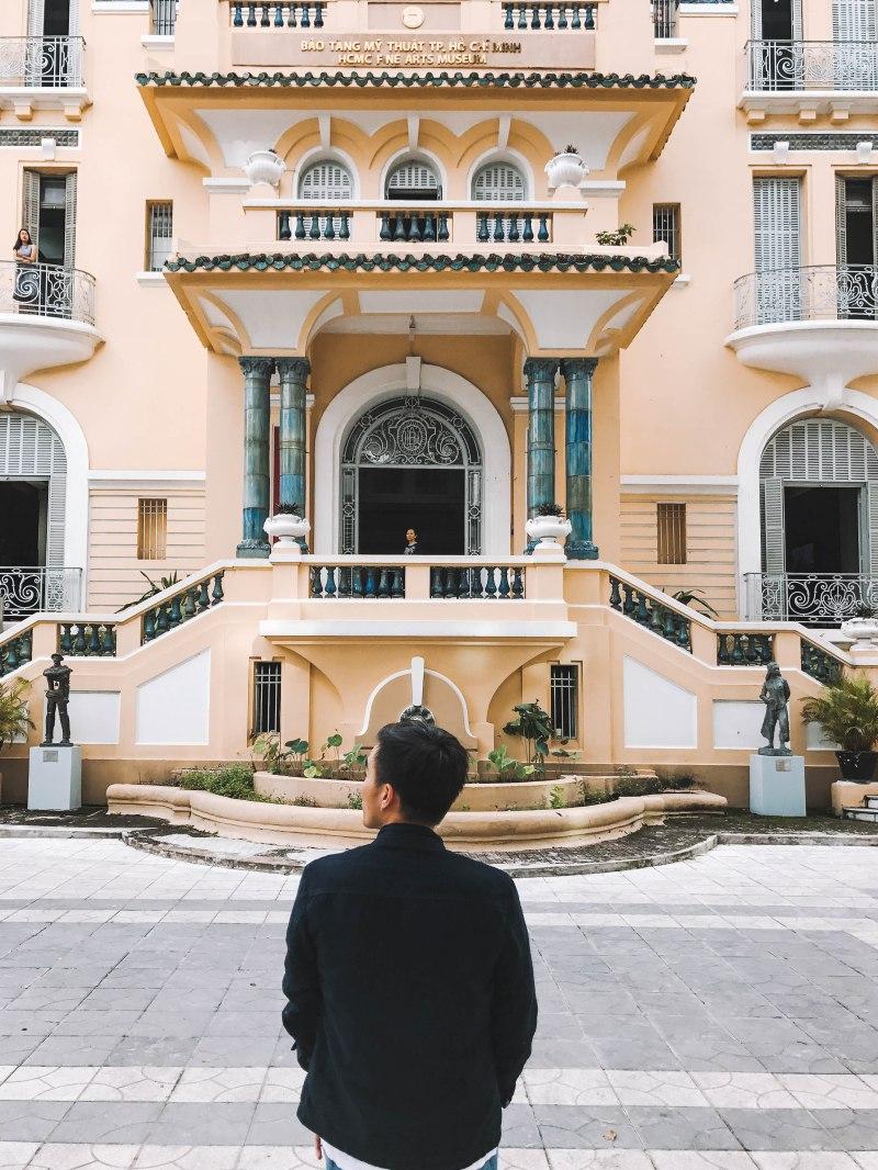 Lý Thành Cơ tại Bảo Tàng Mỹ Thuật Thành phố Hồ Chí Minh Fine Arts Museum